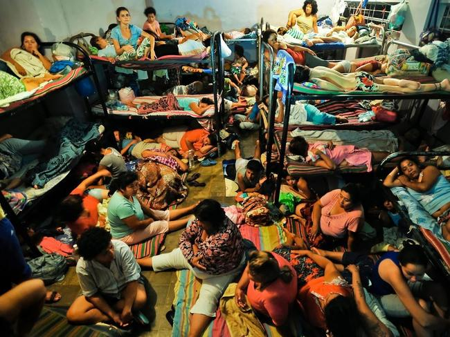 Dirty, crowded conditions in El Salvador's prisons. Picture: Meridith Kohut