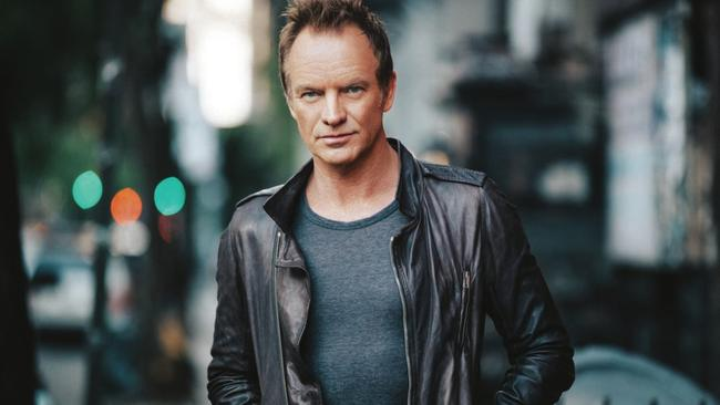Singer Sting Picture: Supplied