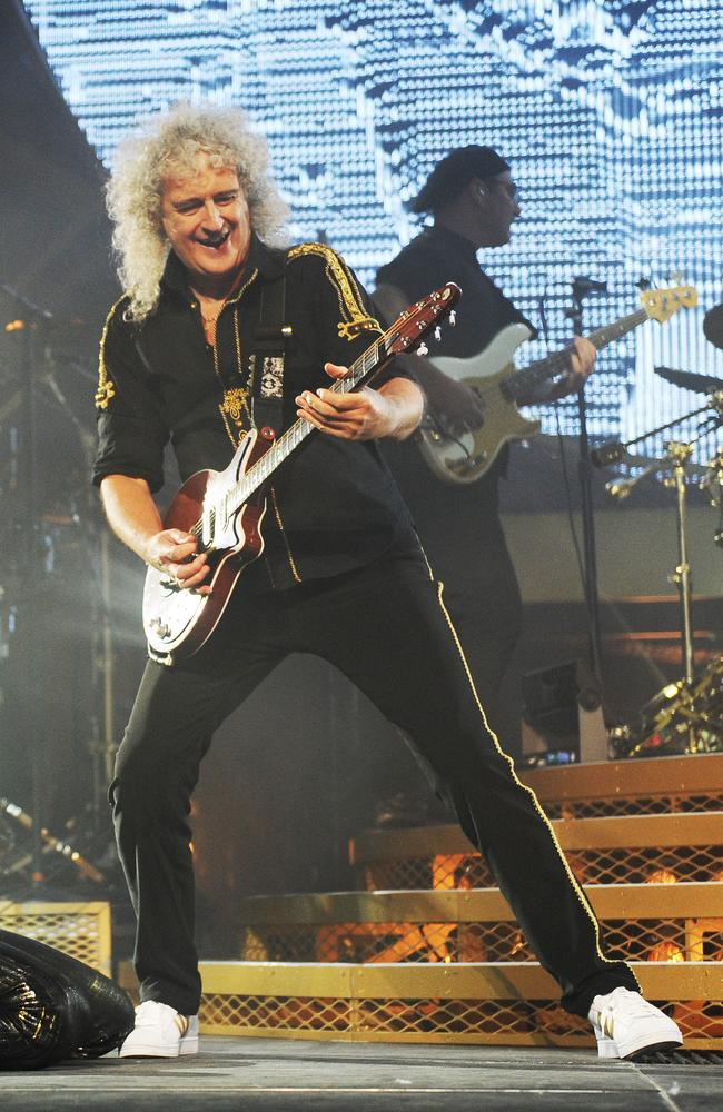 Brian May. Photo: Jackson Flindell