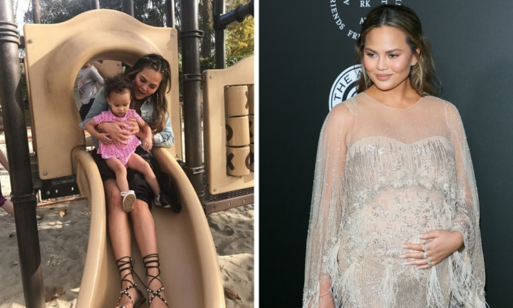 Chrissy Teigen has Instagram divided over this photo