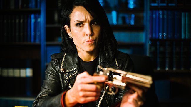 """Noomi Rapace in a scene from 2009 film """"The Girl Who Played with Fire""""."""