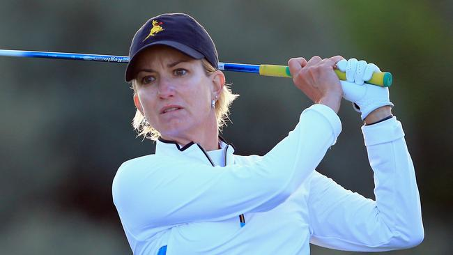 Karrie Webb has been dominant force in women's golf for two decades.