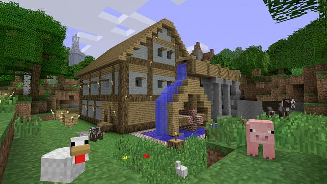 Minecraft allows kids to create anything they can imagine.