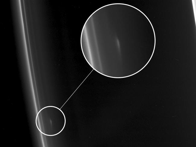 Surprising image from Saturn suicide mission