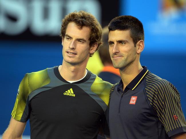 Andy Murray and Novak Djokovic are poised to clash in the quarter-finals.