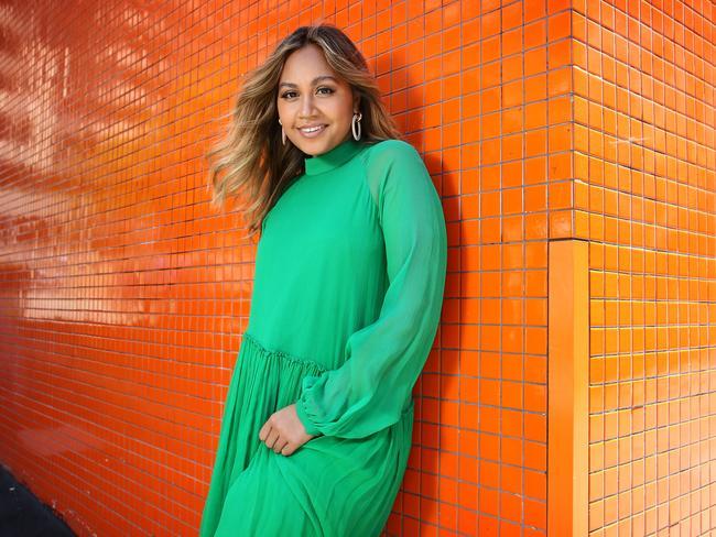 Jessica Mauboy gets her shot at competing at Eurovision next year. Picture: Richard Dobson