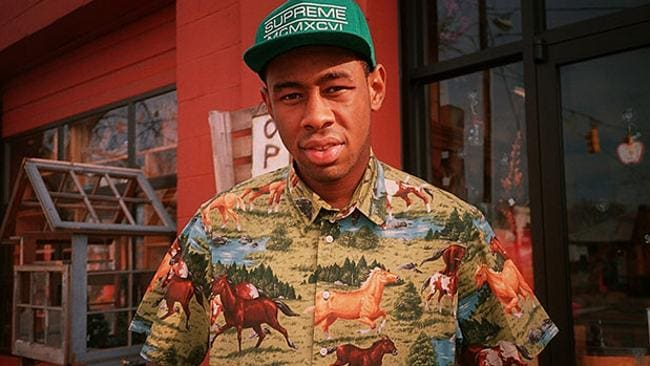 """Tyler the Creator verbally abused Talitha at his Sydney concert, saying: """"Fucking b***h, I wish she could hear me call her a b***h, too, f***king wh**e. Yeah, I got a sold-out show right now b***h. Hey this f***ing song is dedicated to you, you f***ing c***t."""""""
