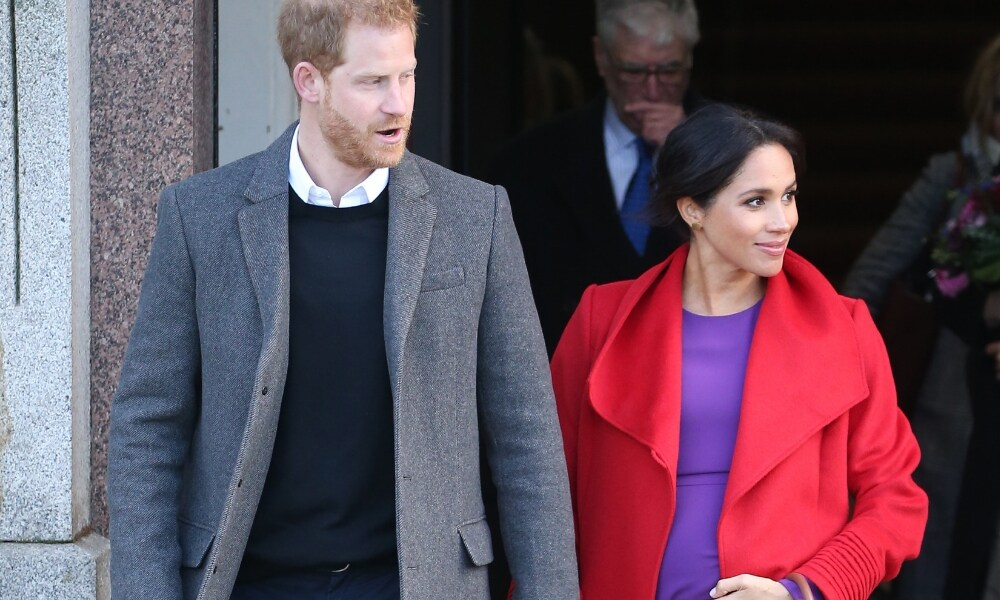 Meghan lets slip her expected due date