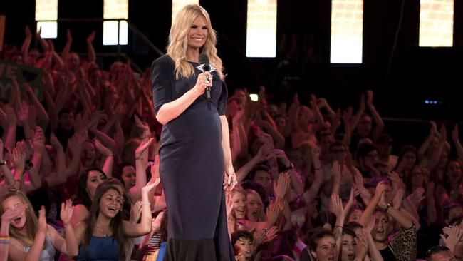 Host with the most ... Sonia Kruger is no stranger to live TV. Picture: Supplied.