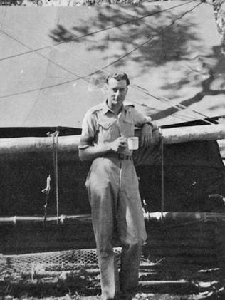 Gough Whitlam in Northern Australia during WWII.