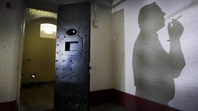 The ghost of Chopper Read, haunts Pentridge Prison. Picture: David Caird