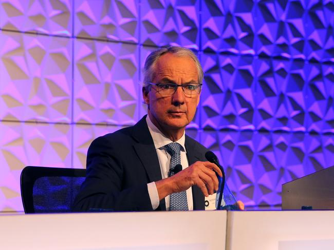 CEO Nicholas Moore at the Macquarie Group AGM. Picture: Stuart McEvoy/The Australian.