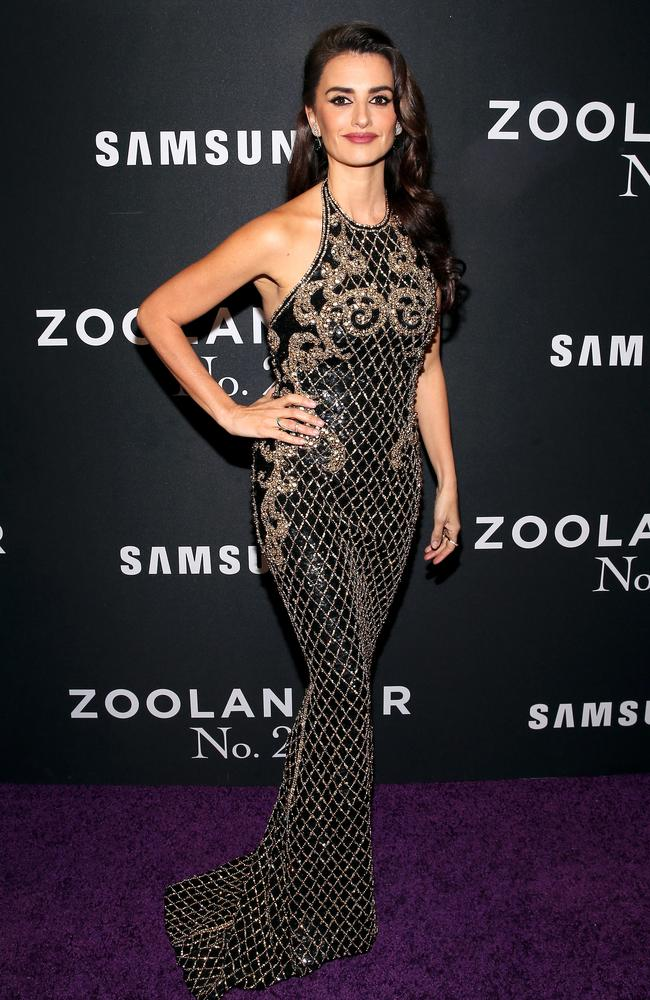 Glamorous ... Penélope Cruz has been dubbed the sexiest woman alive. Picture: Brian Ach/Getty Images for Paramount