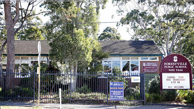 Parents of pupils at Forestville Public have defended the school play saying they believe it was handled sensitively. Picture: Adam Yip