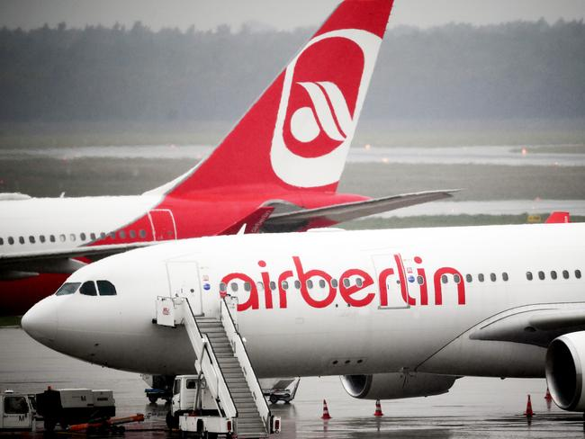 Air Berlin was Germany's second-largest airline. Picture: Britta Pedersen/dpa-Zentralbild/dpa
