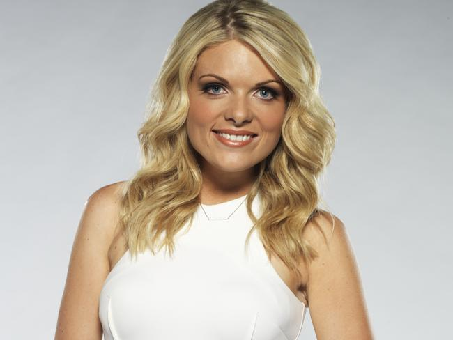 Erin Molan, Channel Nine Footy Show presenter.