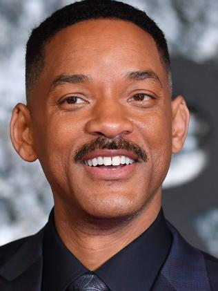 US actor Will Smith will play the Genie. Picture: AFP