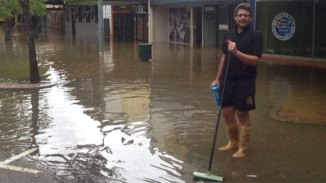 Flood clean up Gympie