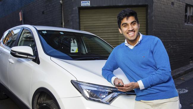Zeryab Cheema, the founder of Hop, a new player entering the local 'ride share' market.