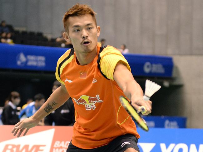 China's Lin Dan is regarded the world's best player.