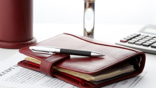 You can pretty much guarantee there won't be leather-bound anything in the stationery cupboard. Picture: Thinkstock