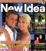<p>Bec Cartwright and Lleyton Hewitt on their wedding day on cover of 2005 New Idea magazine.</p>