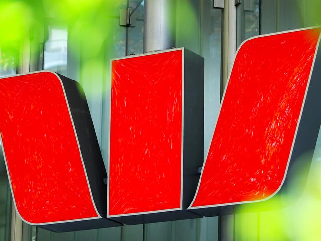 30/05/2017: Generic picture of Westpac logo. Hollie Adams/The Australian