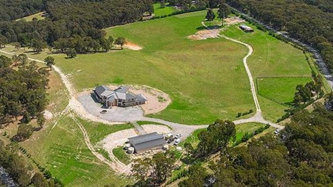 The 30ha estate offers privacy in a quiet Monbulk pocket.