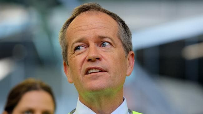 Opposition Leader Bill Shorten has criticised with the WA Liberals and One Nation for striking a preference deal in the key battleground. Picture: Gary Ramage
