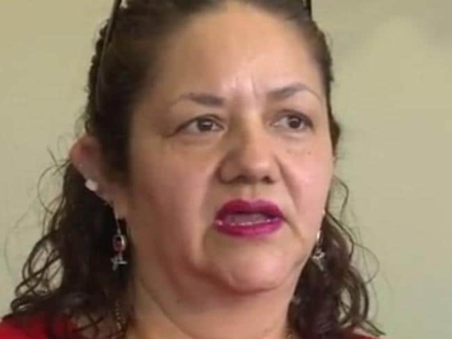 Mother's anguish ... Berta Jimenez is grateful to the medical staff who looked after her daughter and grandson. Picture: WOWT.com