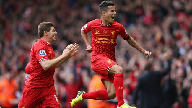 Philippe Coutinho was the matchwinner last time Liverpool played Manchester City.