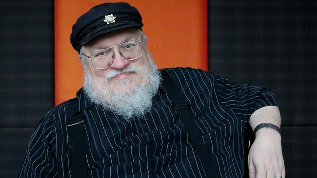George.R.R.Martin is author and creator of Game of Thrones.