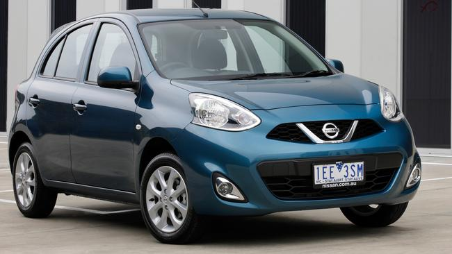 Nissan's Micra was discontinued due to slow sales. Pic: Supplied.