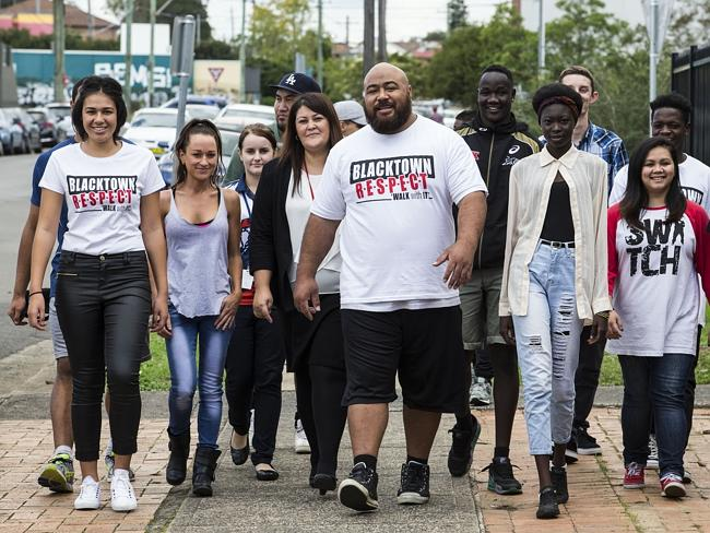 """Joe and Joanne Tau have committed their lives to helping youth in the community and were instrumental in the """"Unity Walk"""" to bring Islander and African members of the community together. Picture: Damian Shaw"""