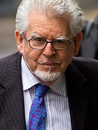 Frail ... Rolf Harris reportedly looked tired and frail during today's court appearance. Picture: Ben A. Pruchnie