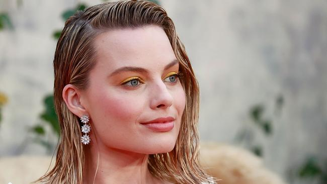 Margot Robbie says her family keep her grounded. Picture: Getty