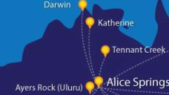 Alice Springs Postcode >> Darwin-Alice Springs flight path no longer most on-time route in Australia | NT News