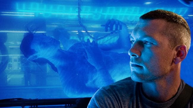 Aussie actor Sam Worthington had the starring role in the first <i>Avatar </i>flick.