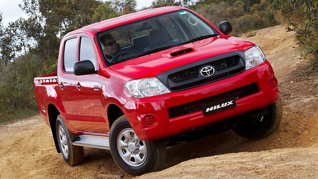 TOUGH TRAVELLER: Toyota's HiLux was 2011's second biggest seller.