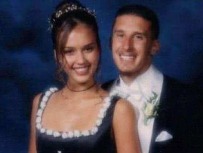 Jessica Alba - The actress is so sweet and innocent-looking in this photo you half expect her to burst into a song from The Sound of Music. Picture: Supplied