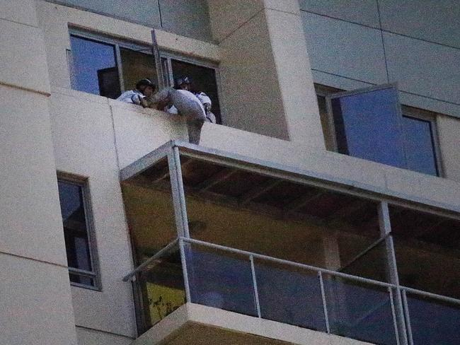 The man is in custody after the 12-hour standoff in Chatswood.