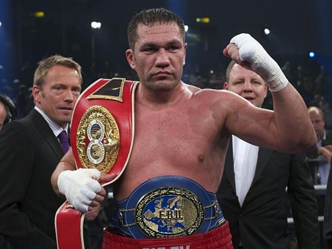 Tough fight ... Kubrat Pulev faces a battle to beat Wladimir Klitschko.
