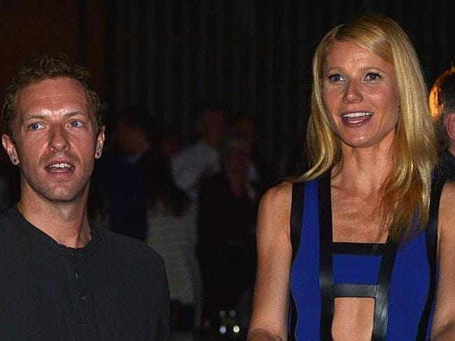 Chris Martin and Gwyneth Paltrow this week announced their separation — sorry, 'conscious uncoupling'. Picture: Getty
