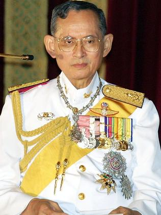 The laws of Thailand make it an offence punishable by prison sentence to insult the Thai King Bhumibol.