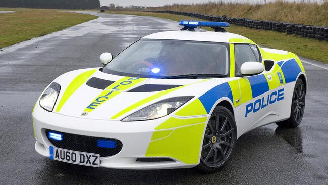 Not many cars can weave through traffic as quick as this Lotus.
