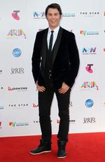 Jimmy Giggle at the 2015 Aria Awards held at The Star in Pyrmont. Picture: Christian Gilles