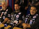 Bikies rarely hold press conferences, but in response to Strike Force Raptor and its aggressive targeting, the Rebels National President Alex Vella opened the doors of his Bringelly clubhouse and allowed members of the media to ask him questions.