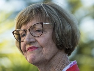 **AUSTRALIAN OUT** Pictures of Margaret Court outside her home in City Beach, Perth after a storm of her own making, amid a growing public backlash to her controversial view on gay marriage. 26 May 2017. Picture: Ross Swanborough.