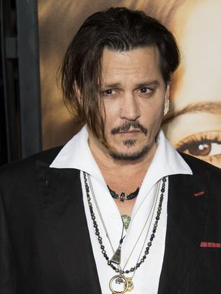 "Hollywood hunk Johnny Depp labelled Barnaby Joyce ""some kind of sweaty, big-gutted man from Australia"" at a press conference in Italy over the dog saga."