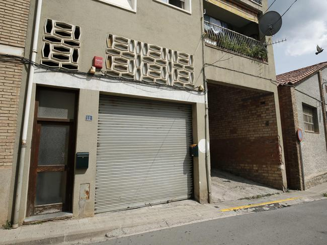 A building allegedly used as a mosque by Imam Abdelbaki Es Satty in Ripoll. Picture: AFP